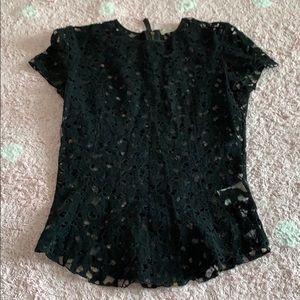 Nina Ricci couture black top Perfect condition